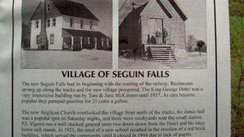 Seguin Falls Ghost Town cover photo