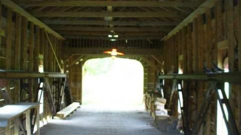 Covered Bridge over Raisin cover photo