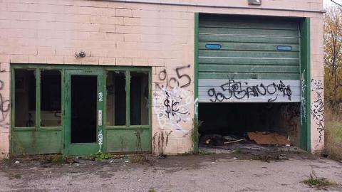 Garage graffiti cover photo