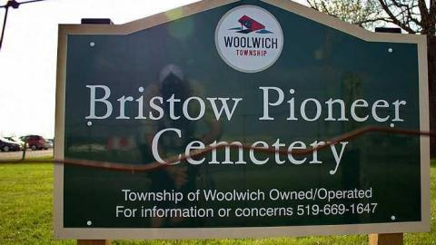 Bristow Pioneer Cemetery cover photo