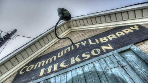 Hickson Library cover photo