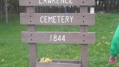 Lawrence Pioneer Cemetery cover photo
