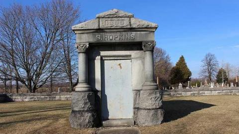 Hopkins Tomb cover photo