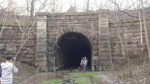 East End (Blue Ghost Tunnel) cover photo