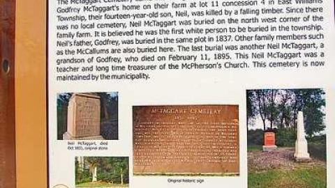 McTaggart Pioneer Cemetery cover photo