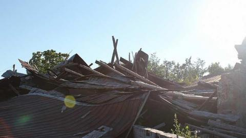 Collapsed Barn cover photo