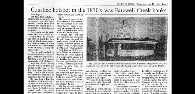 The old teapot in Courtice - Claringtons-Lost-Communities3.png