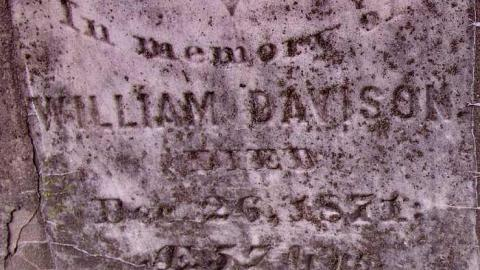 Bible Christian Cemetery 1853 cover photo