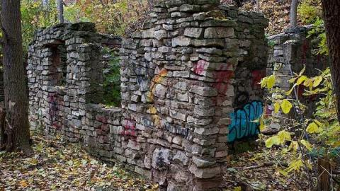 Bruce Trail Stone building cover photo