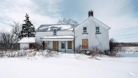 Vacant in the Snow cover photo