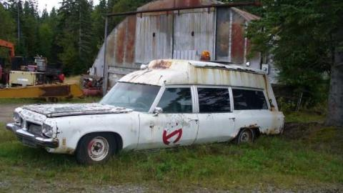 Ghost Busters Car cover photo