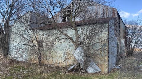 Long abandoned horse barn cover photo