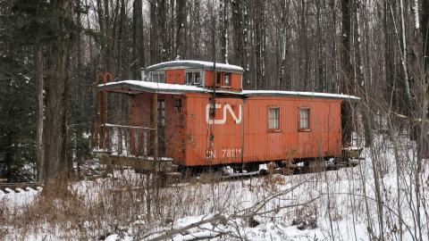 CN Caboose Cabin. cover photo