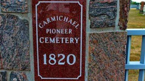 Carmichael Pioneer Cemetery cover photo