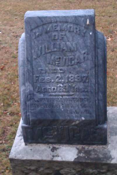 McVicar Pioneer Cemetery cover photo